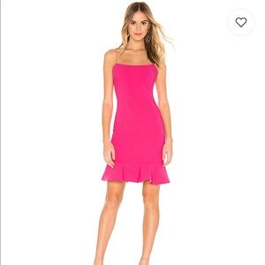 COPY - Likely Banks Dress in Fuchsia